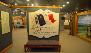 Permanent gallery, Acadian history, Musee Acadien, Miscouche