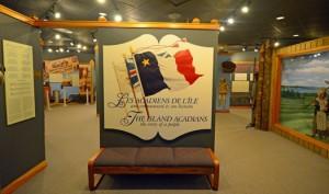Permanent gallery, Acadian history, Musee Acadien, Miscouche