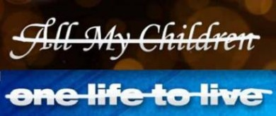 soaps AMC and OLTL title cards x'd out