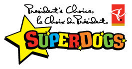 pc superdogs logo - performing animals