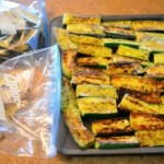 Preserving Grilled Zucchini