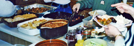 Cooking potluck