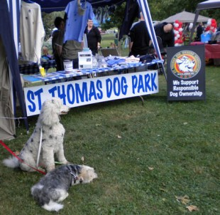 Spot the Fire Muster Dog at STDOA booth photo D Stewart