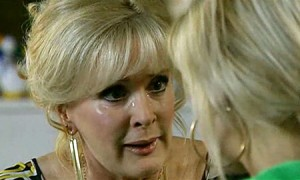 Liz tells Becky about Katie's Christmas angel
