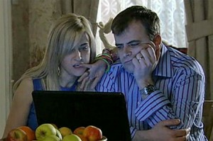 Becky & Steve look at adoptive children website - needs a home