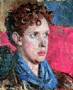 portrait of Dylan Thomas by Augustus John