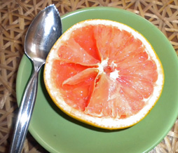hints for grapefruit cutting