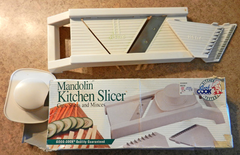 mandolin slicer photo dorothy stewart