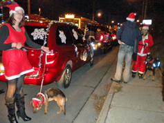 Santa's Elves in parade line up