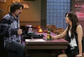 Coleman talking to Brooklyn at bar, General Hospital
