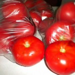 bag of tomatoes