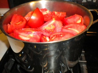 tomatoes cooking