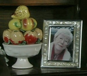 photo of Blanche on sideboard
