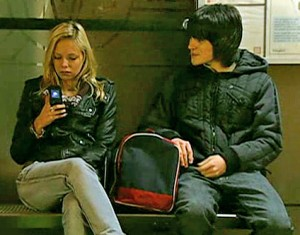"""Sian reading text to Ryan from Sophie - """"Liar"""""""