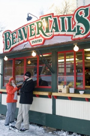 Beavertail stand, Rideau Canal