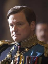 Colin First as George VI, in The King's Speech