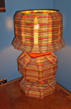 Port Rowan popsicle stick lamp