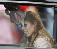 Princess Beatrice and her hat
