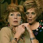 Claudia and Rita, listening to Audrey