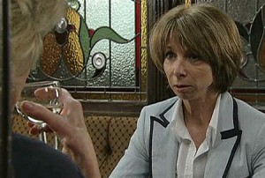 Gail, aghast at her mother telling her off - again
