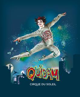 circus cirque Quidam poster, from Cirque du Soleil site