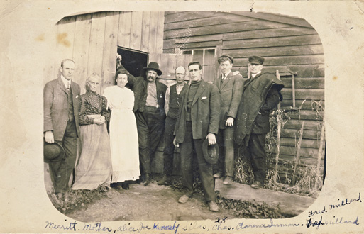 Burwell Photos Ada Ann and sons 1908
