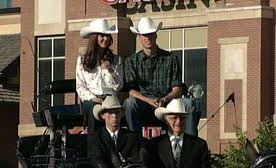 William & Kate open 2011 Stampede Parade (ctv pic)