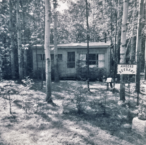 Angers' Retreat, cottage at Bluewater Beach 1961