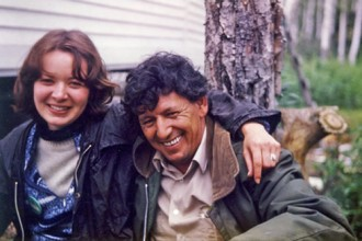 Jim John and Dorothy, Gander River 1979