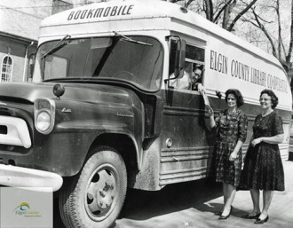 Elgin Co bookmobile 1963