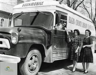 Elgin Co bookmobile 1963