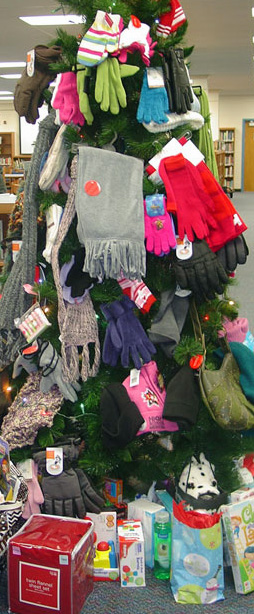 Mitten tree Carroll Co. Public Schools Maryland