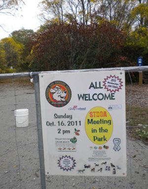 sign for dog park meeting Oct 16 2 pm