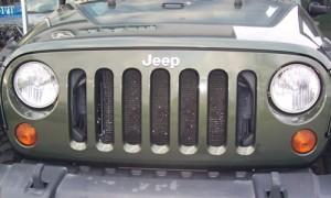 Jeep Rubicon grill