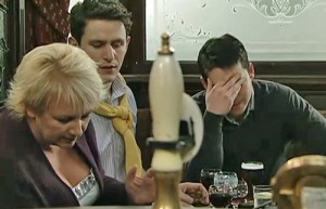 Todd embarrassed by Eileen in Rovers
