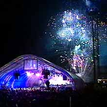 New Year's Eve fireworks St. John's 2000 photo CBC NL