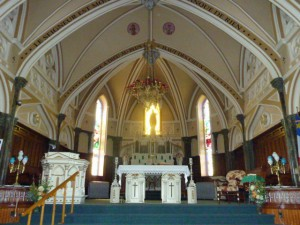 Interior of church from shepaintsred blog