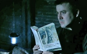 Paradise Lost - John in attic reading Milton