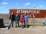 Attawapiskat solution - photo of town sign firstnations.ca/attawapiskat
