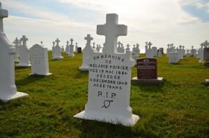Poirier grave Mont Carmel
