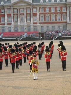 Grenadier Guards Band on Horseguards Parade, Anon. 2008
