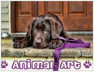 Columbia-Greene Animal Shelter, poster for Animal Art at 2012