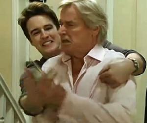 James fights Ken to get phone away