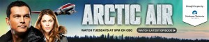 Arctic Air banner cbc website