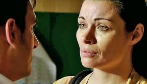 Carla telling Peter she loves him
