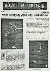 Nfld. Quarterly Dec 1912 H Blackburn on Newfoundland south coast