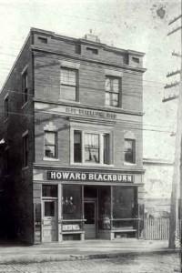 Howard Blackburn's tavern, now a museum, Glouchester Mass.
