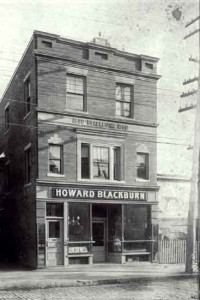 Howard Blackburn's tavern, now a museum, Glouchester Mass.