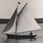Howard Blackburn Great Republic sailboat