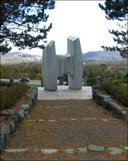 Ocean Ranger memorial in St. John's